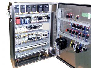 食品製造装置の制御盤