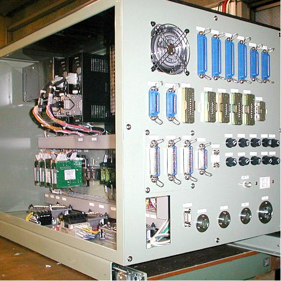 部品製造装置の制御盤